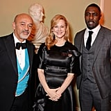 Idris Elba and Family at the Evening Standard Awards