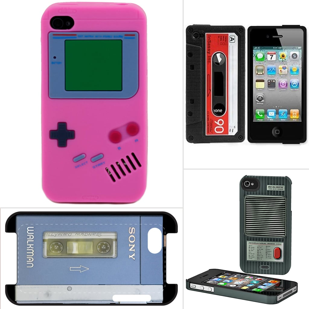 Raise the Roof For These Throwback iPhone Cases
