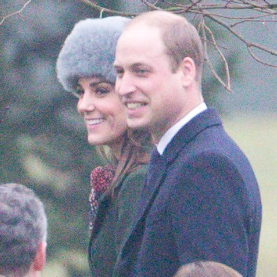 Kate Middleton and Prince William at Church January 2017