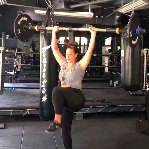 c700edd8938c6 Ashley Graham Gym Instagrams | POPSUGAR Fitness