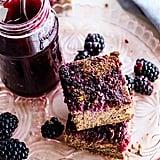 Blackberry Quinoa Cakes