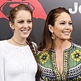 Diane Lane Brings Her Look-Alike Daughter to the Batman v Superman Premiere