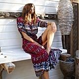 Sunward Boho Maxi Dress