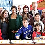 Meghan Markle and Prince Harry at Canada House March 2019