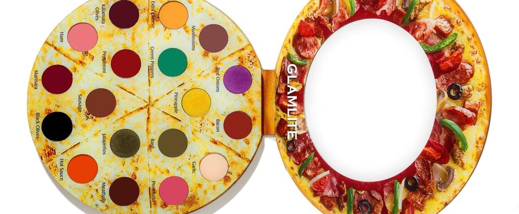 Glamlite Pizza Eye Shadow Palette 2018
