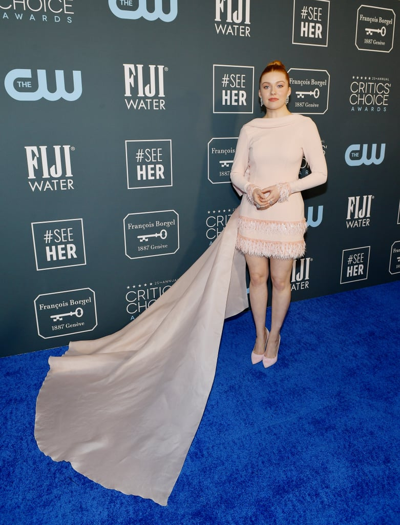 Kennedy McMann at the 2020 Critics' Choice Awards