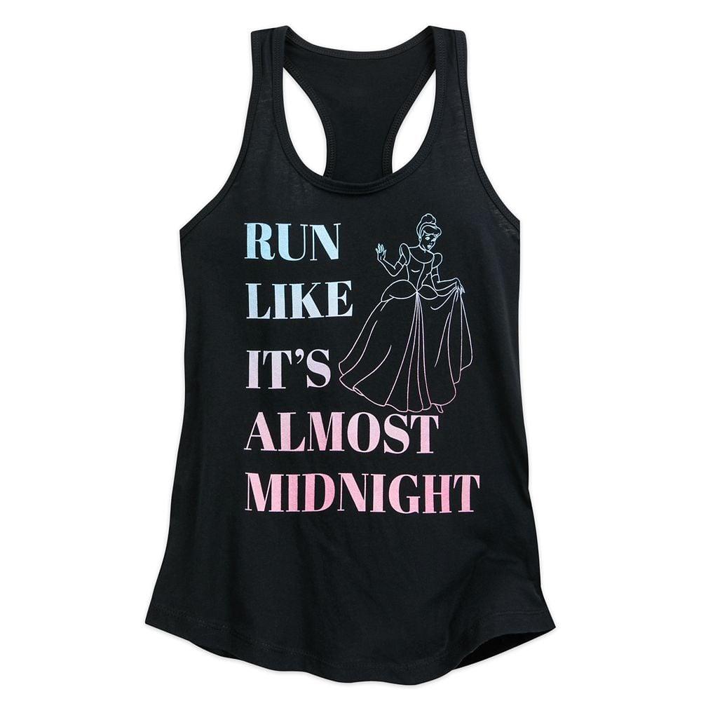"Cinderella ""Run Like It's Almost Midnight"" Tank Top For Women"