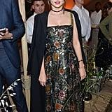 Miranda Kerr Smiled For the Cameras