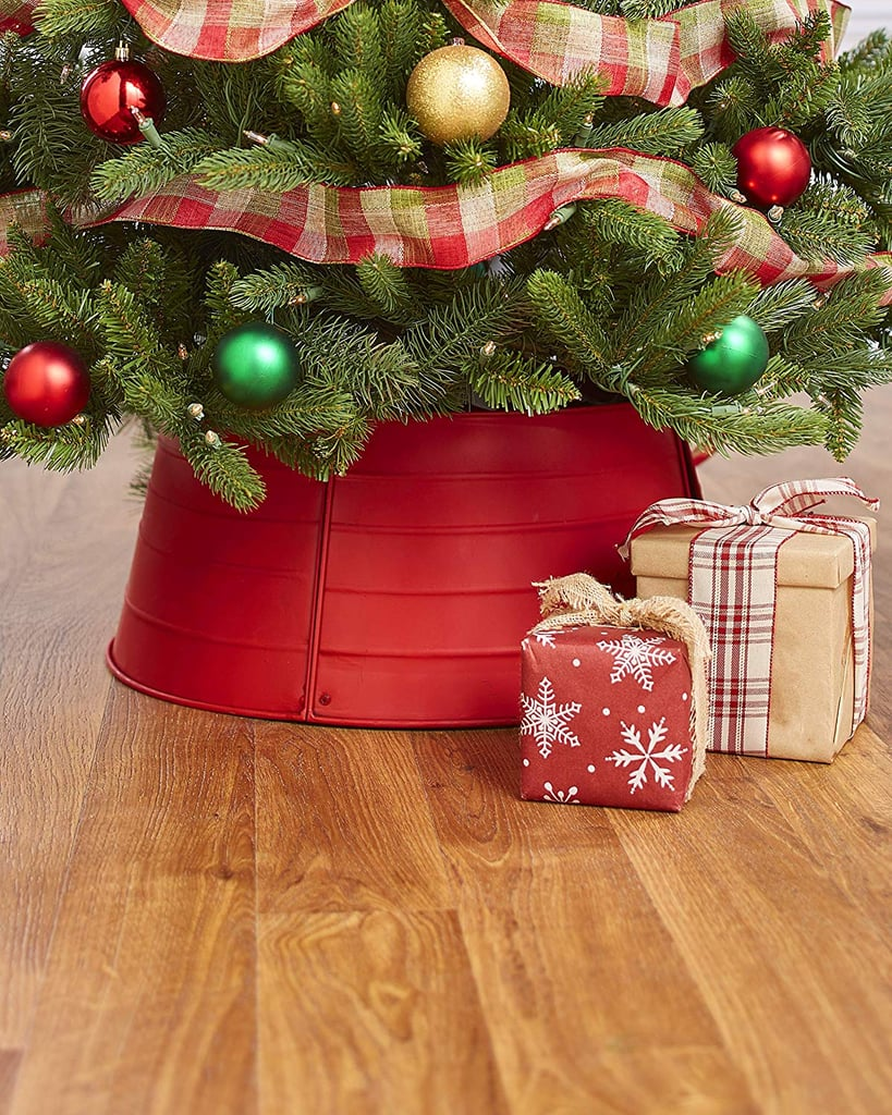 The Lakeside Collection Decorative Metal Christmas Tree Ring