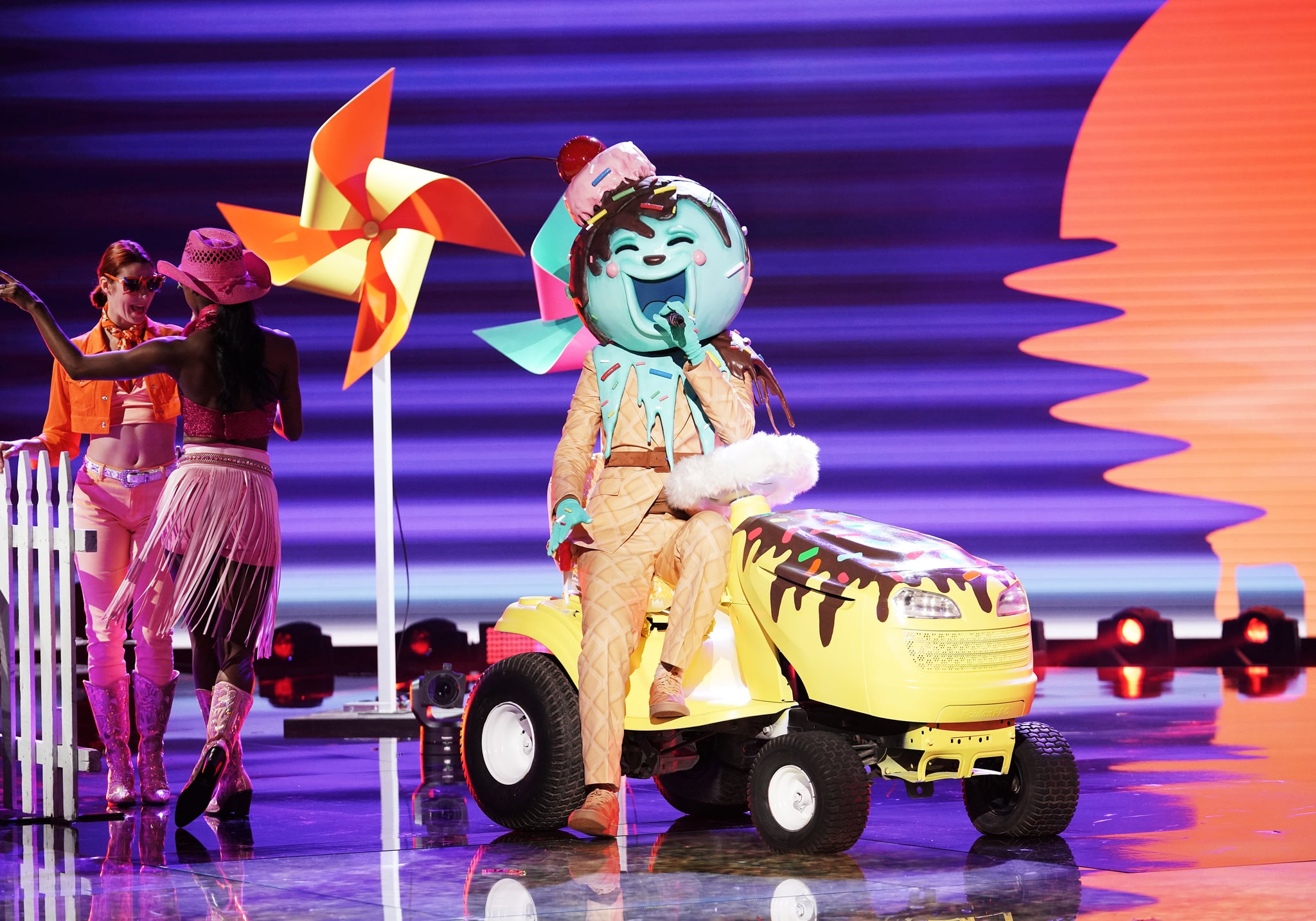 Season 2 The Ice Cream The Masked Singer Every Single Costume And Contestant We Ve Seen Over The Years Popsugar Entertainment Photo 28