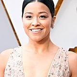 Gina Rodriguez Oscars Hair and Makeup 2018
