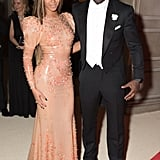 Pictured: Beyonce Knowles and Idris Elba
