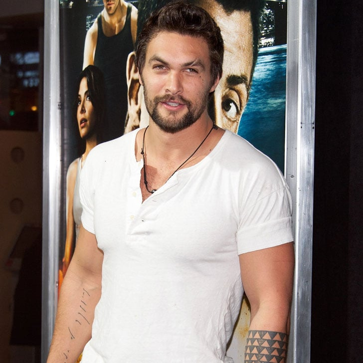 Jason Momoa Takes A Stroll With His Kids: Jason Momoa Obsessing T