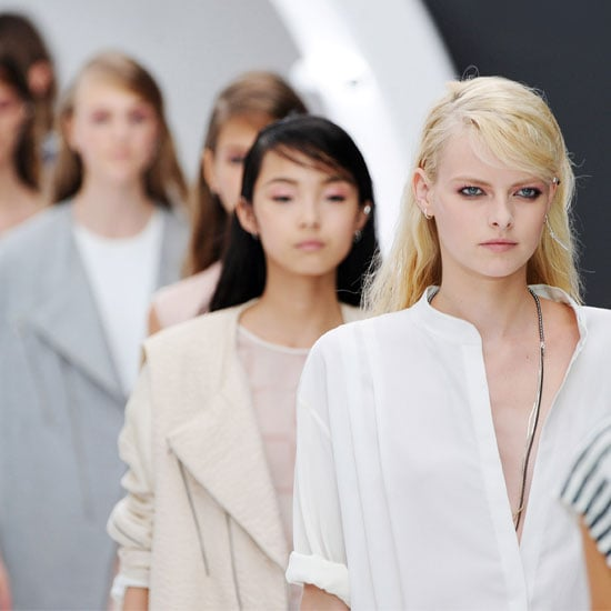 Pictures and Review of Topshop Unique Spring Summer London Fashion Week Runway Show