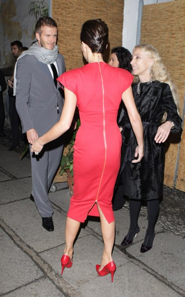 Another Look of Victoria Beckham in Milan