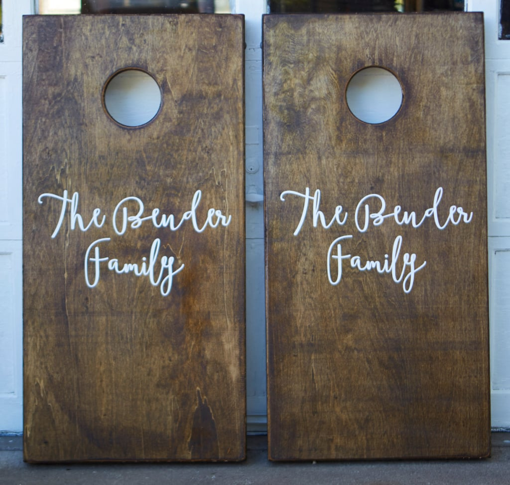 Family Cornhole Set