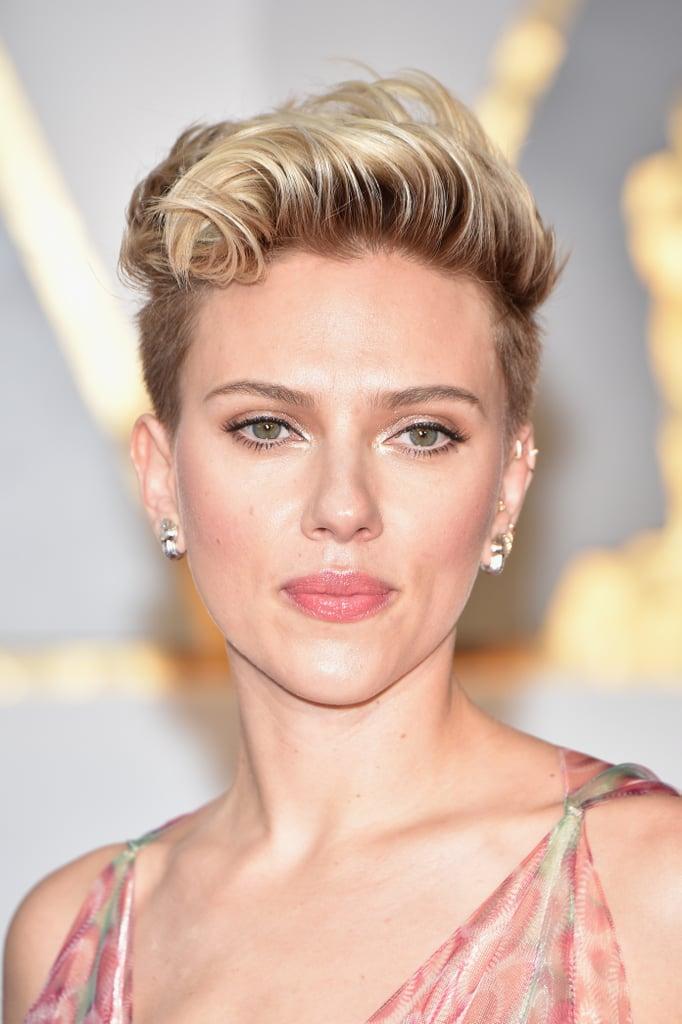 Scarlett Johansson Oscars 2017 Hair And Makeup On The Red Carpet Popsugar Beauty Uk Photo 28