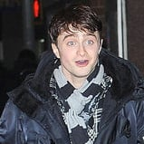 Pictures of Daniel Radcliffe in NYC After First Preview of How To Succeed in Business Without Really Trying