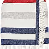 Paul & Joe Titane Striped Wool-Blend Mini Skirt ($146, originally $365)