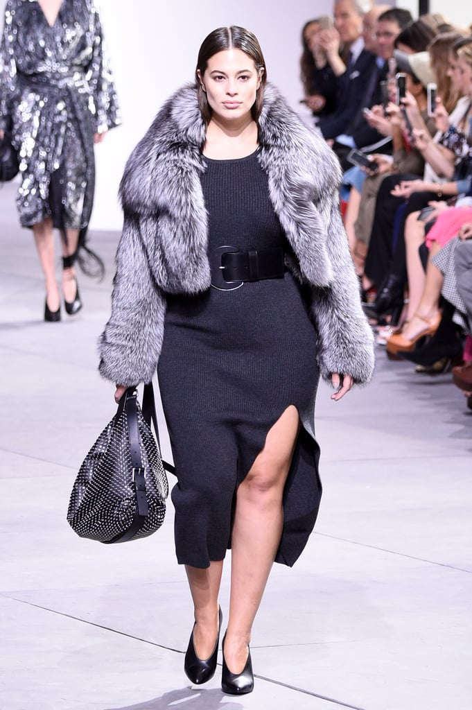 Ashley Graham Was the First-Ever Curvy Model to Walk at Michael Kors