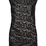 """This 3.1 Phillip Lim has the perfect combination of edginess and sophistication. A cool pair of booties would look great."" 3.1 Phillip Lim Lace and Leather Mini Dress ($795)"