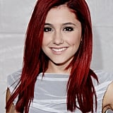 Ariana Grande With Straight, Red Hair in 2009