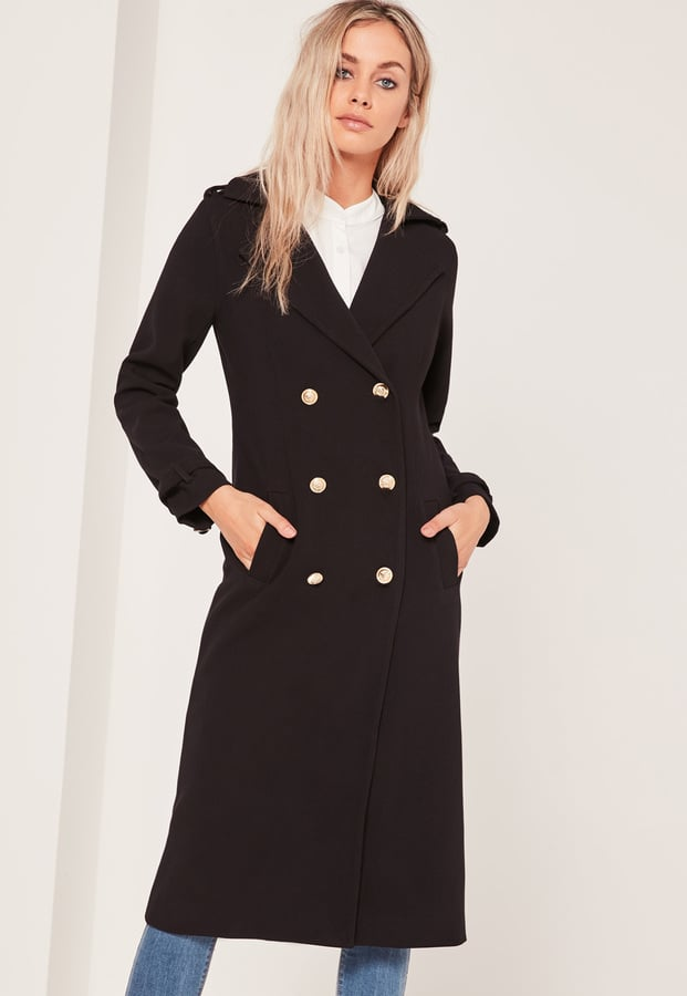 Missguided Lightweight Military Trench Coat ($94)