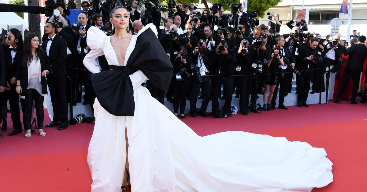 52dbd1195ef Deepika Padukone White Dress at Cannes 2019. Whoa! Deepika Padukone Served  Up a Major Fashion Moment ...