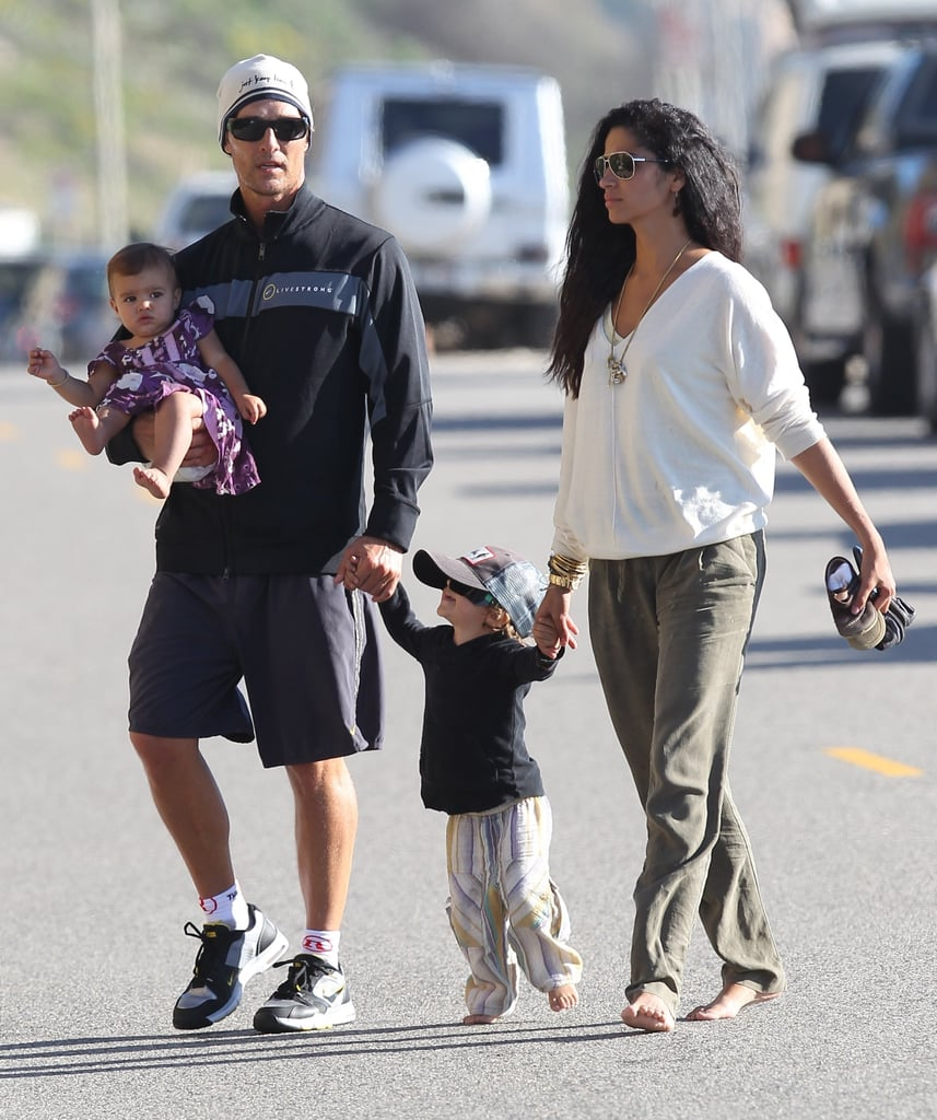 Matthew and Camila Live the Good Life With Levi and Vida at the Beach