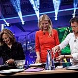 Gwyneth Paltrow cooked on El Hormiguero.