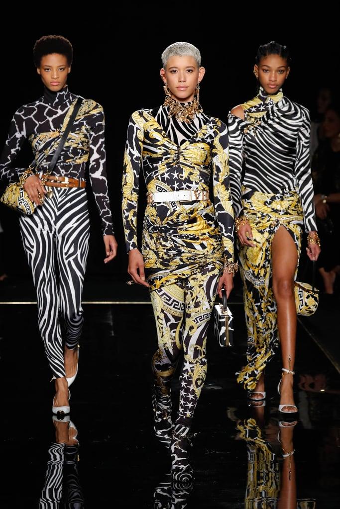 Versace Pre-Fall 2019 Runway