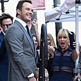 Chris Pratt Hollywood Walk of Fame Ceremony Pictures