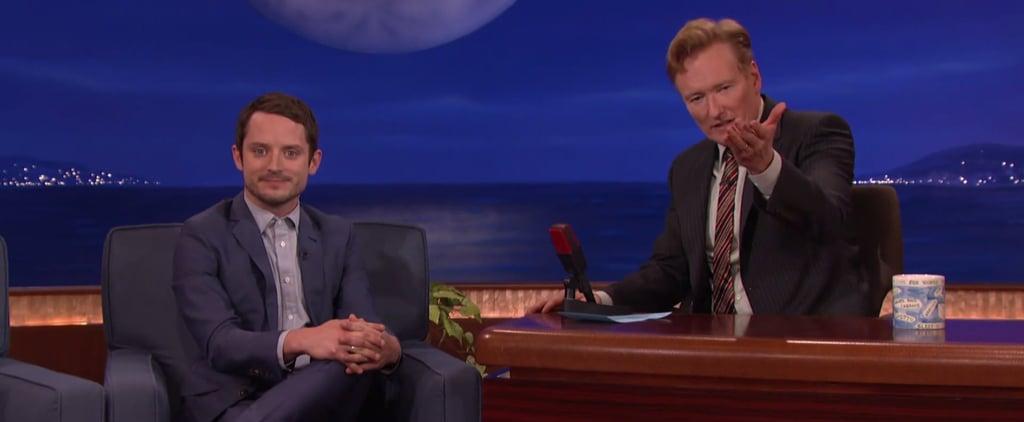 Elijah Wood Talks About Fighting Daniel Radcliffe on Conan