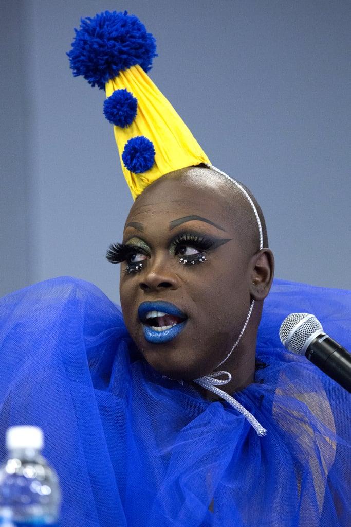 Bob rhe Drag Queen made clowns glamorous at DragCon.