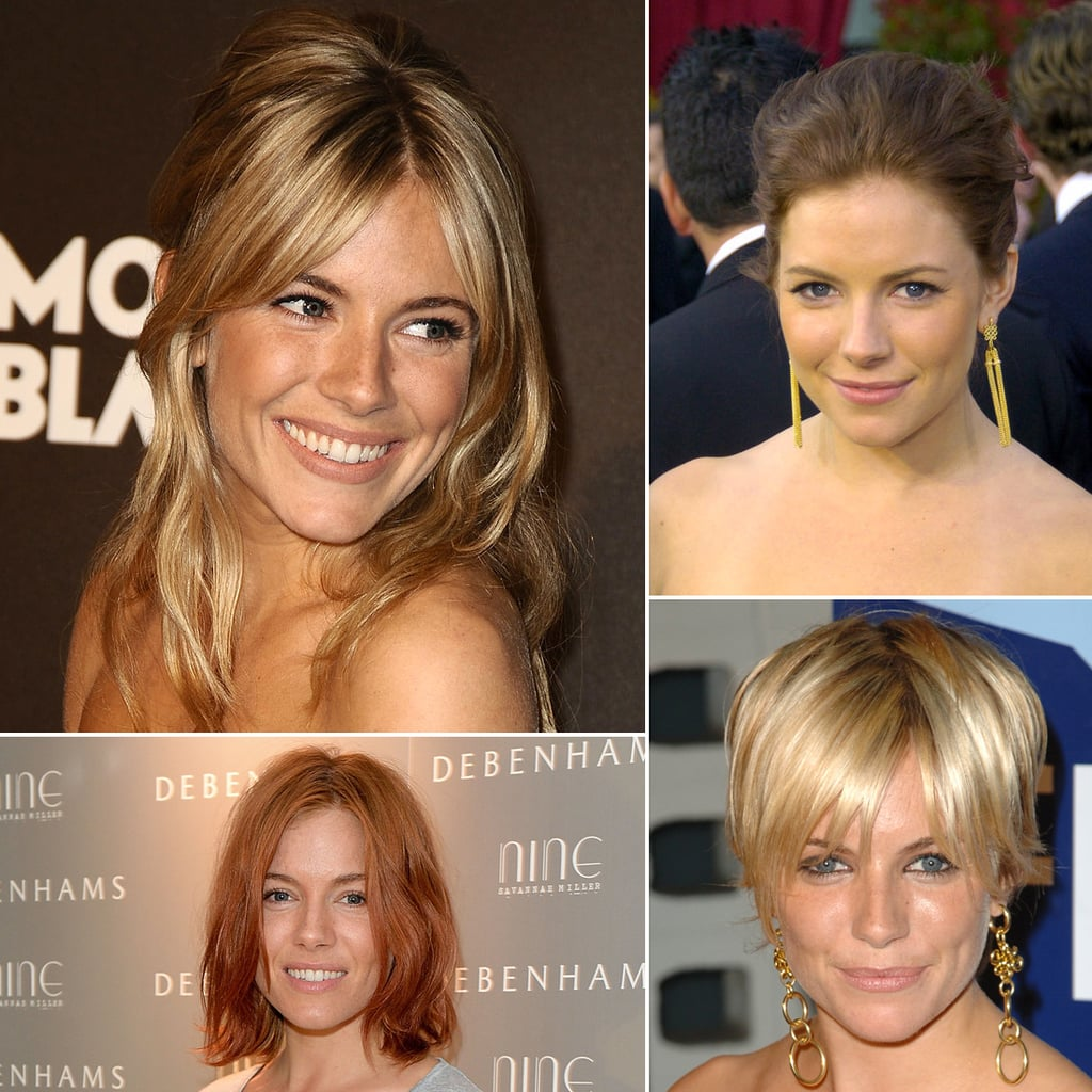 Pictures of All Sienna Miller\'s Different Hairstyles | POPSUGAR ...