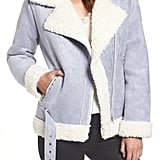 Endless Rose Faux Shearling Jacket