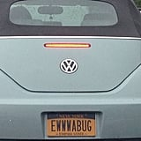 """I find few vanity plates clever . . . "" Source: Reddit user fightingdove via Imgur"