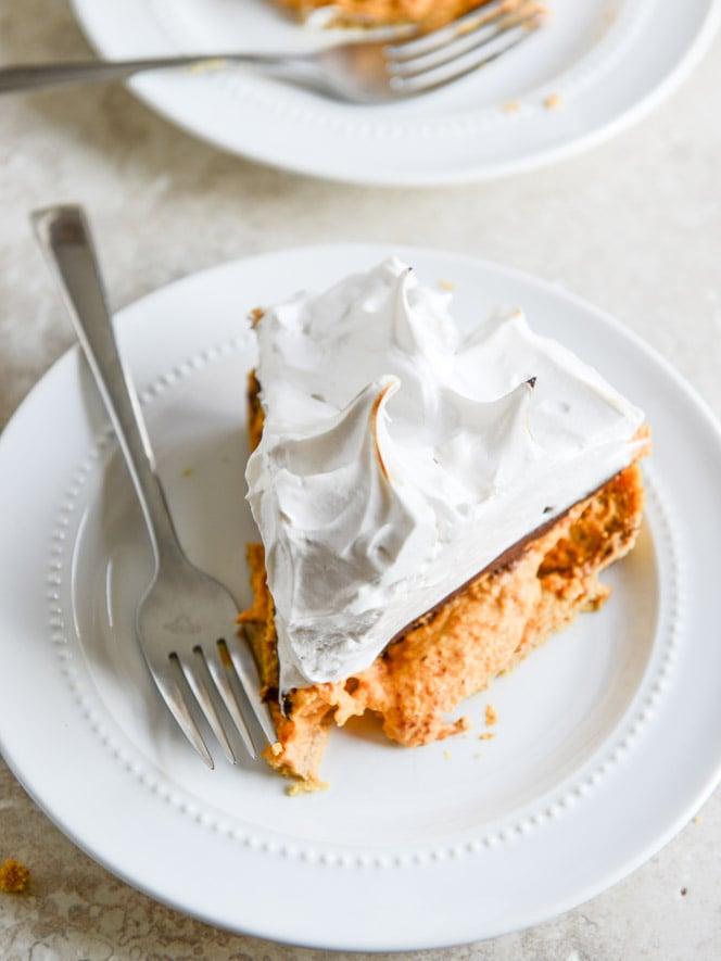Pumpkin S'mores Tart