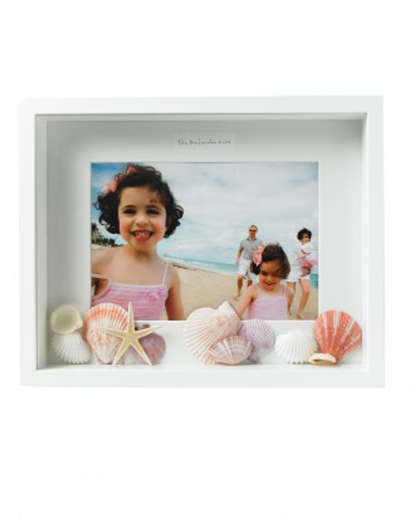 Add Their Photos and Souvenirs to a Shadowbox