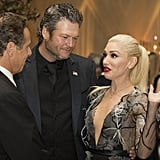 Gwen Stefani and Blake Shelton at White House State Dinner