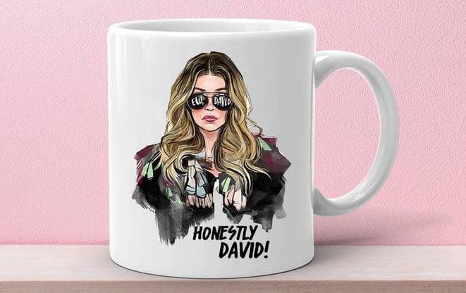 Ew, David! Schitt's Creek Alexis Rose Mug