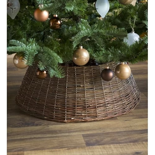 Willow Christmas Tree Collar Tired Of Christmas Tree Skirts Try A Collar Instead Popsugar Home Australia Photo 12