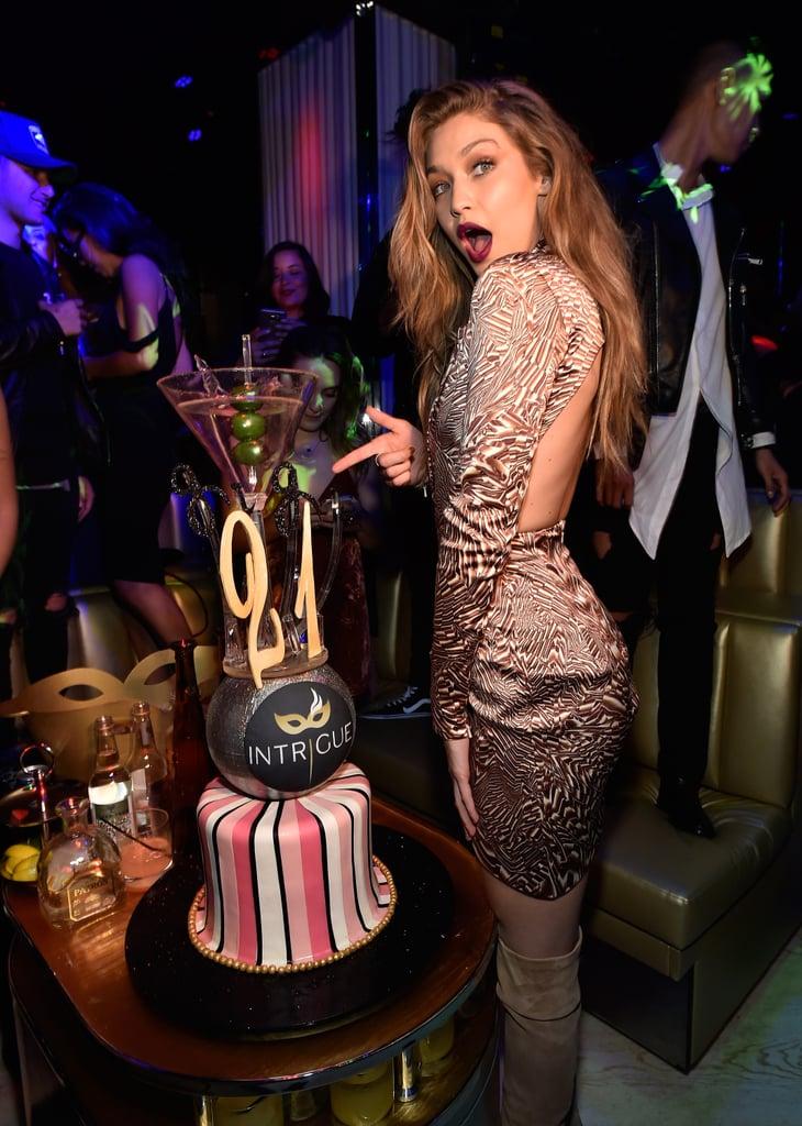 Celebrities at Gigi Hadid's 21st Birthday Party