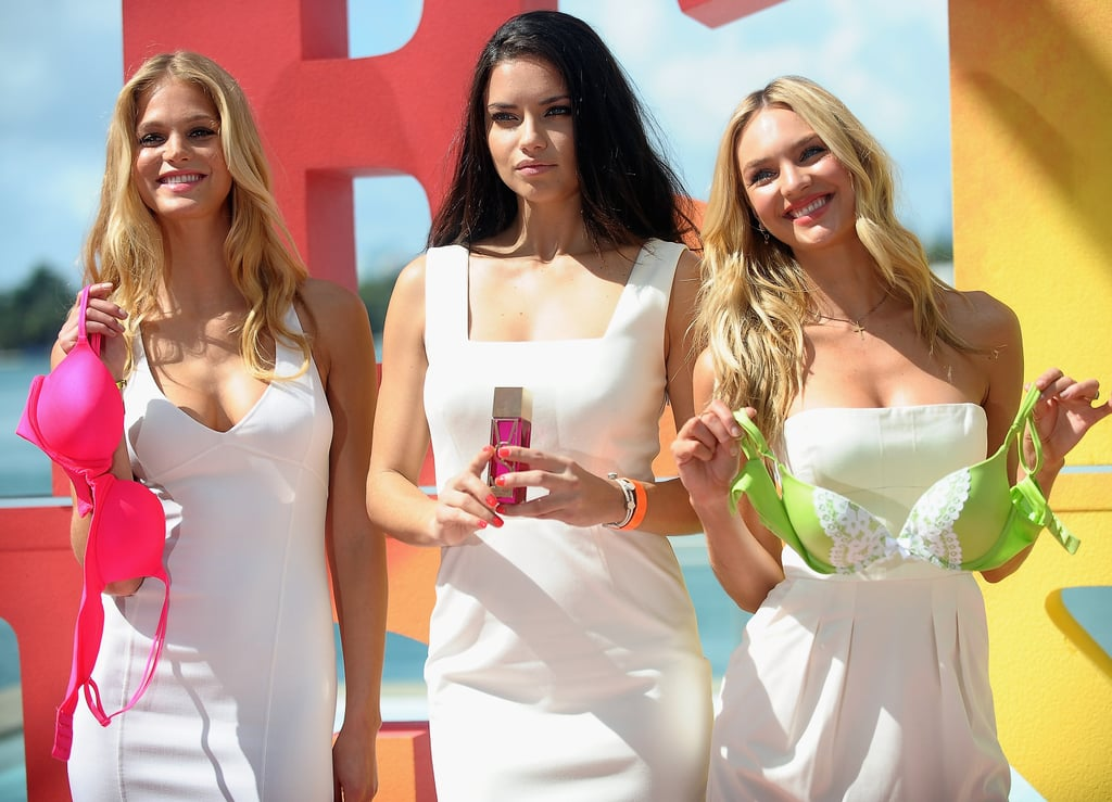 Adriana Lima, Erin Heatherton, and Candice Swanepoel posed for VS.