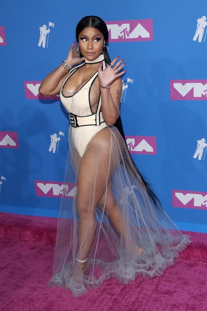 Nicki Minaj Hair at the 2018 VMAs