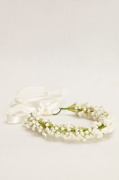 Baby's Breath Floral Wreath ($25)