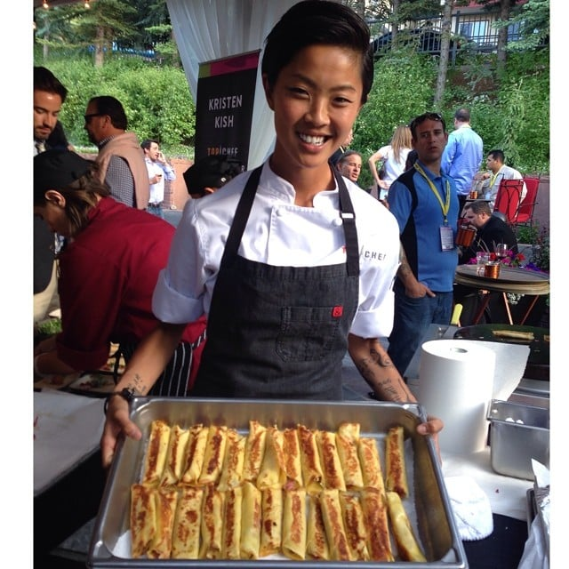 Kristen Kish Reinvented the Grilled Ham and Cheese