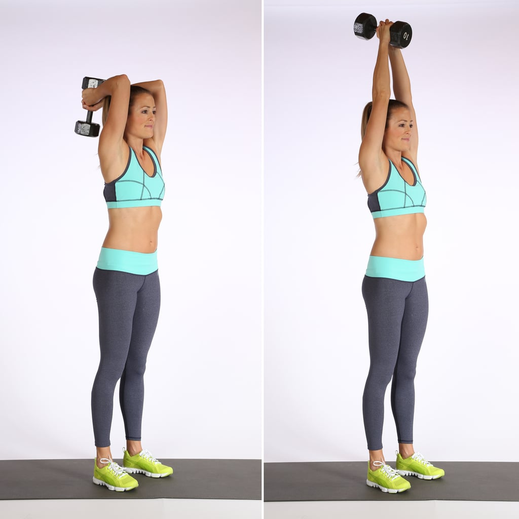 Circuit 1, Exercise 5: Overhead Triceps Extensions