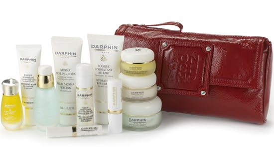 Christmas 2008 Darphin Gift Set Cofret Glam and Rock Longchamp Present Ideas. Luxury Beauty Christmas Limited Edition Collection