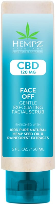 CBD Face Off Gentle Exfoliating Facial Scrub